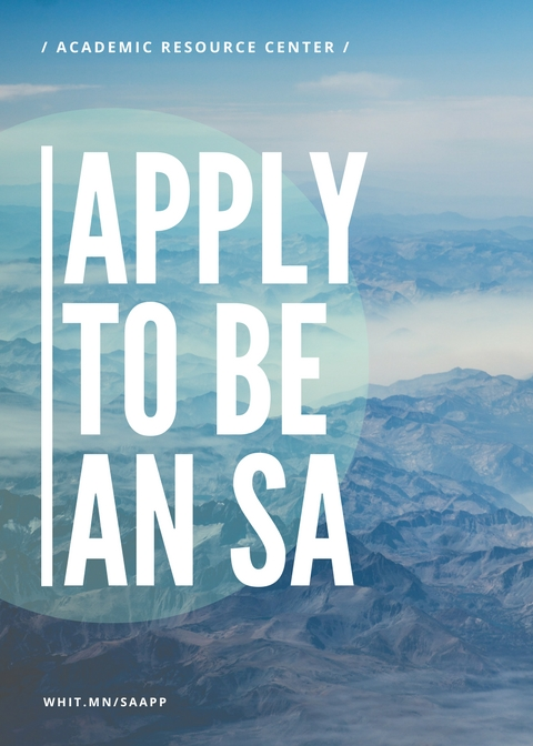 Apply to be an SA with mountains