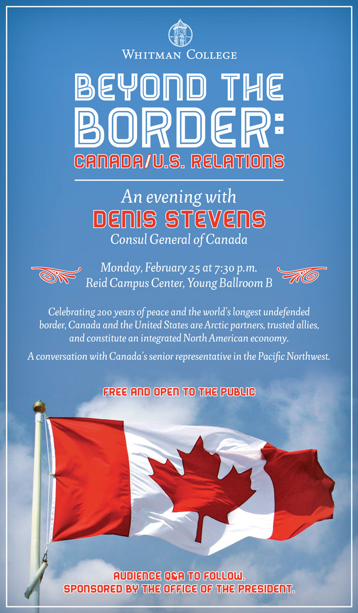 Canadian Consul General poster