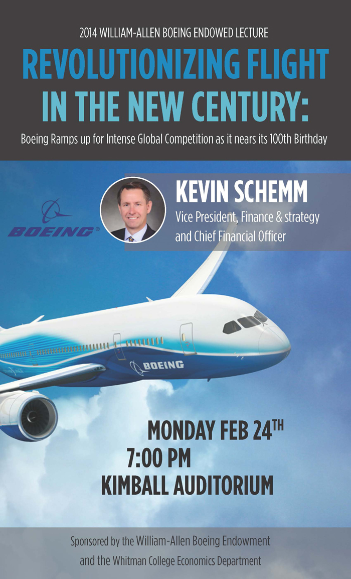 Boeing Lecture poster
