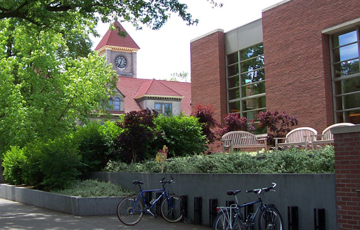 memorial building and penrose library