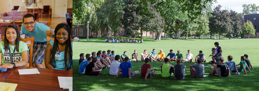 Students building community at Whitman College