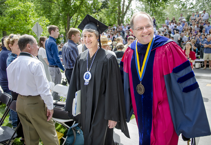 Whitman Commencement 2014 - Sally Jewell