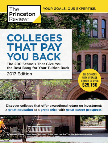 Princeton Review book cover