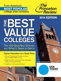 The Princeton Review: The Best Value Colleges 2014