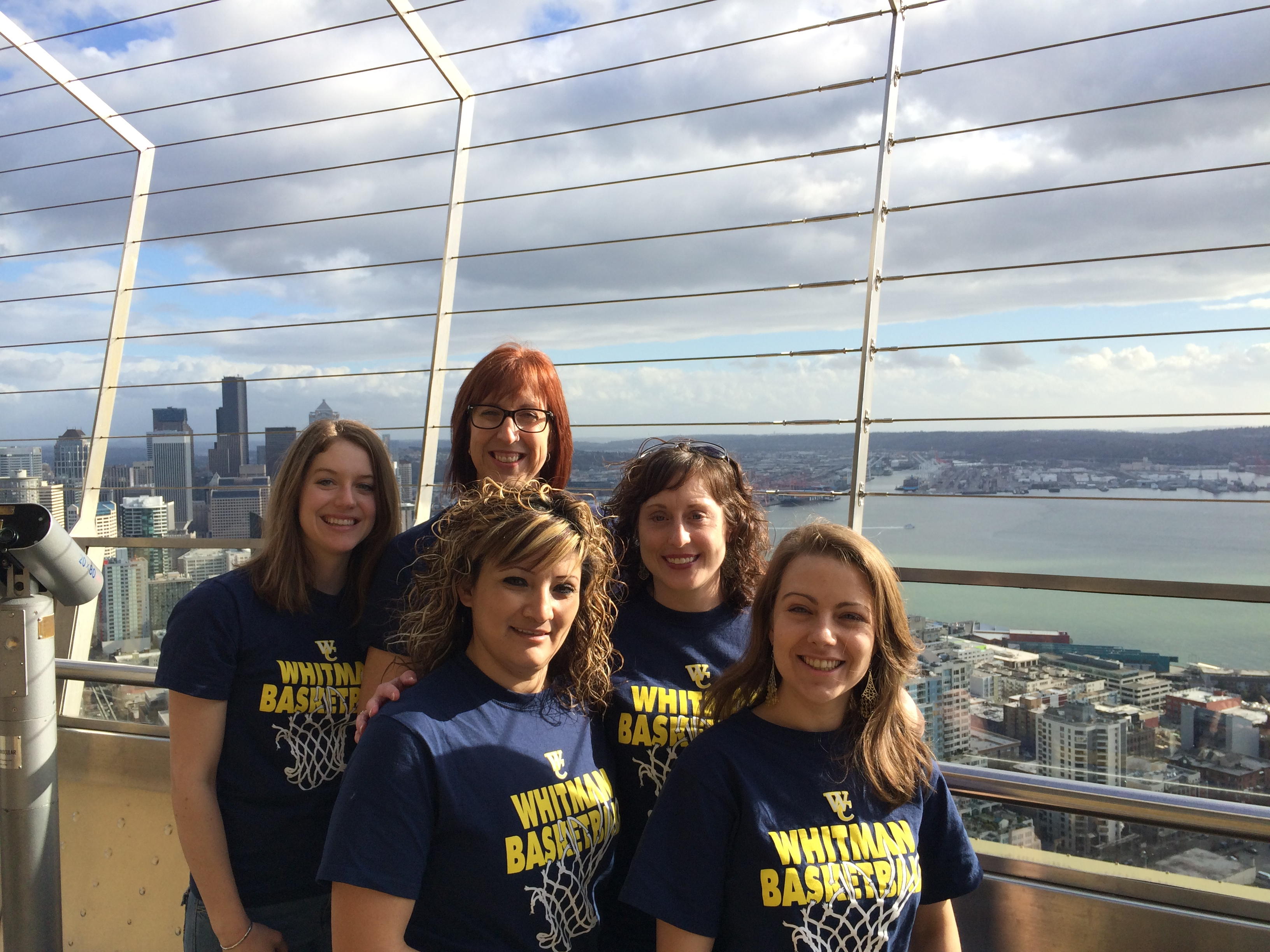 Registrar's Office Staff at the Space Needle