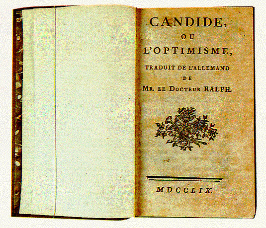 voltaires candide War in voltaire's candide it is forbidden to kill therefore all murderers are punished unless they kill in large numbers and to the sound of trumpets.