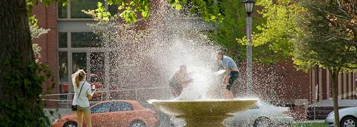 Whitman students enjoying the summer break