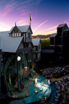 Elizabethan Stage at the Oregon Shakespeare Festival