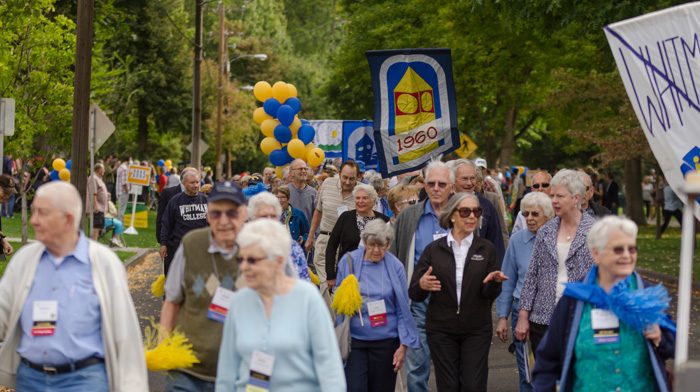 2015 Whitman College Reunion Class Parade