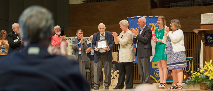 Alumni Recognition Awards at the 2016 Reunion Weekend Convocation