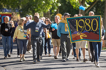 2016 Reunion Weekend Parade of Classes