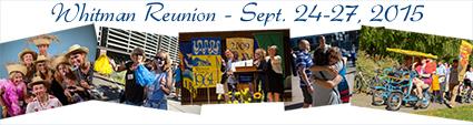 2015 Reunion Weekend, Septmber 24-27