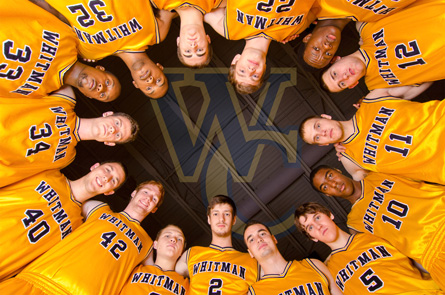 Whitman College Men's Basketball Team