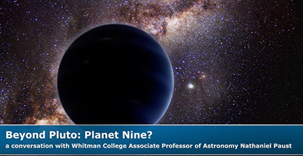 Beyond Pluto: Planet Nine?