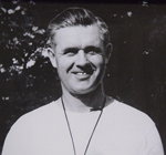 Dr. Robert 'Bob' Thomsen, Whitman College varsity football, golf and cross country coach from 1952 to 1979
