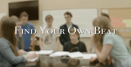 Find Your Own Beat, a video by Whitman College Film and Media Studies students