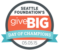 Seattle Foundation's GiveBIG - Day of Champions 05.05.15