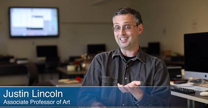 Whitman College Associate Professor of Art Justin Lincoln