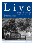 Livewire, a newsletter for young alumni