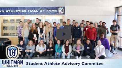Thank you video from Whitman Student Athlete Advisory Committee