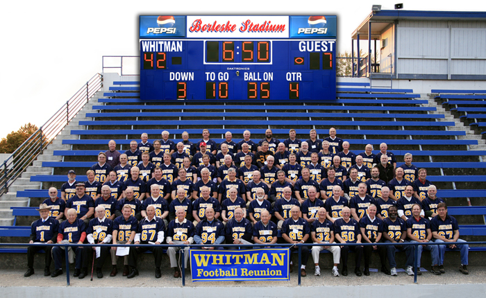 Whitman College Football Reunion, 2008
