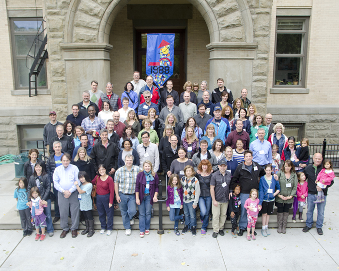 Whitman College Class of 1988, Cluster Reunion, Fall 2013