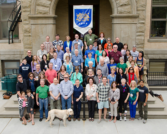 Whitman College Class of 1977 Photo Group (and ID List) Spring 2013