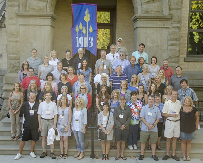 Whitman College Class of 1983 Cluster Reunion (30th), Fall 2014