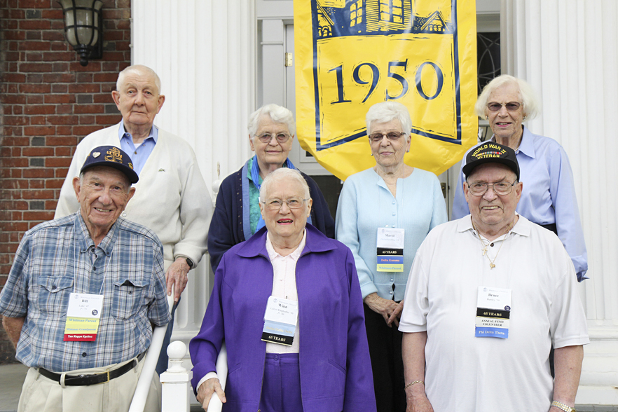 Whitman College Class of 1950 65th Reunion, Fall 2015