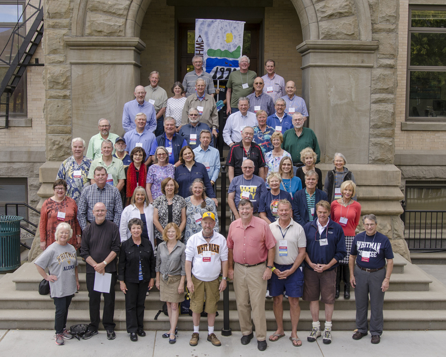 Whitman College Class of 1970 45th Cluster Reunion, Fall 2015