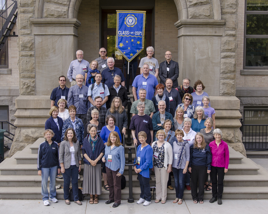 Whitman College Class of 1971 45th Cluster Reunion, Fall 2015