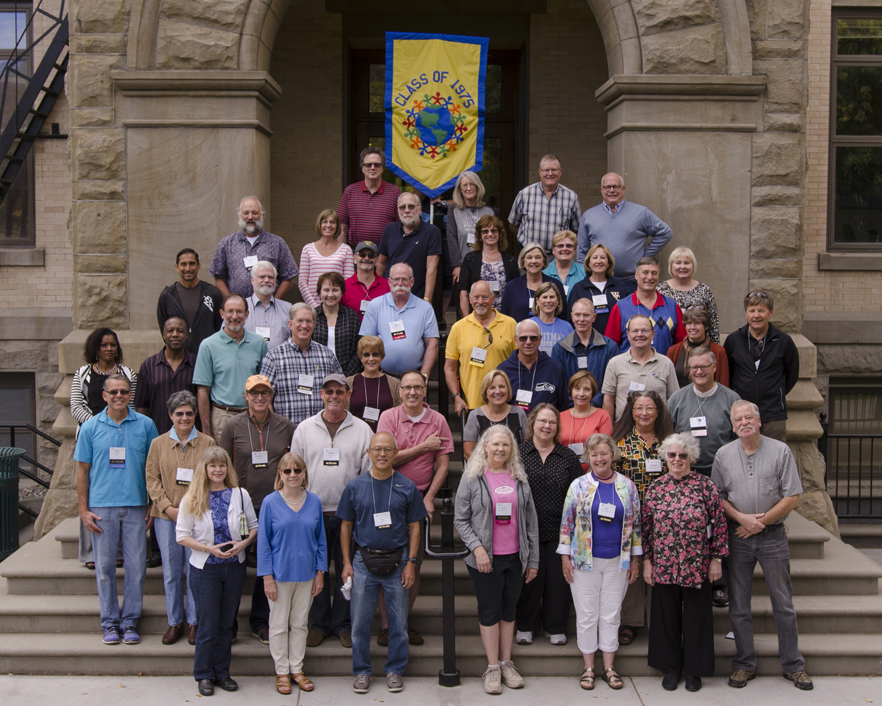 Whitman College Class of 1975 40th Reunion, Fall 2015