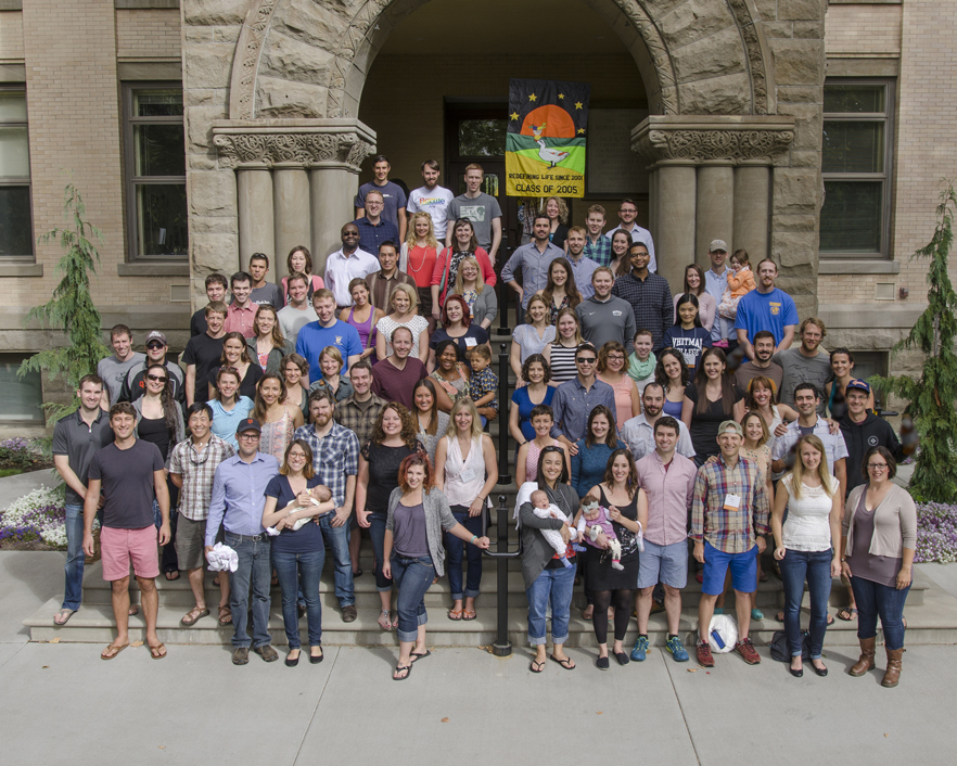 Whitman College Class of 2005 10th Reunion, Fall 2015