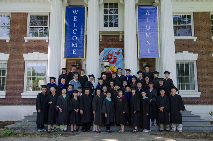 Whitman College Class of 1965 50th Reunion, Commencement, May 24, 2015