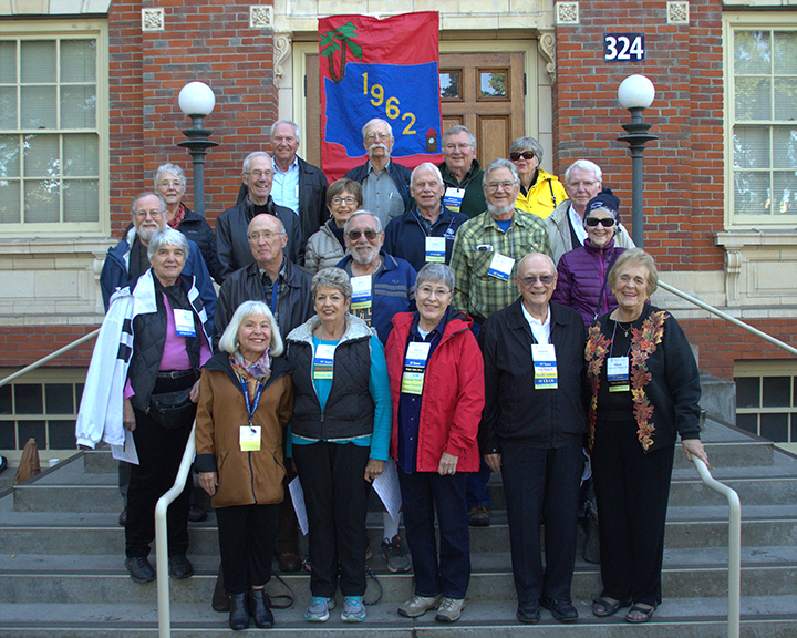 Whitman College Reunion Weekend, Class of 1962