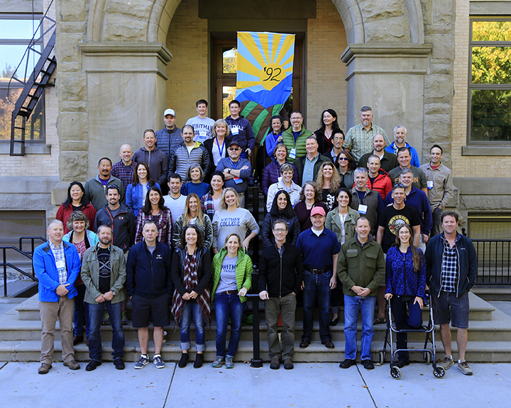 Whitman College Reunion Weekend, Class of 1992
