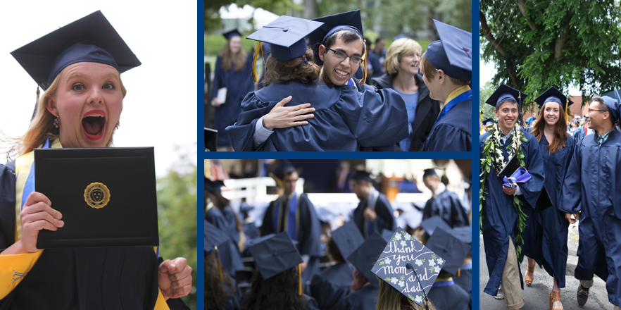 Whitman College Commencement 2016 - Now they are Whitman College Alumni