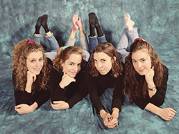 Chastity Belt, a rock band formed at Whitman, stars Gretchen Grimm, Lydia Lund, Julia Shapiro, and Annie Truscott - all alumnae from the Class of 2012.