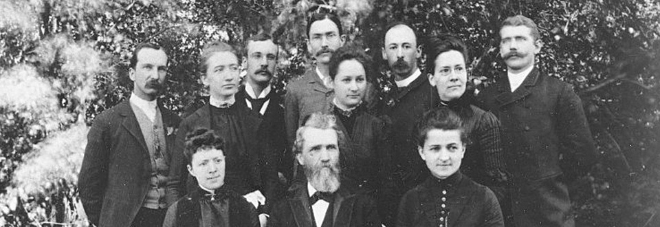 Members of Whitman Conservatory, 1885