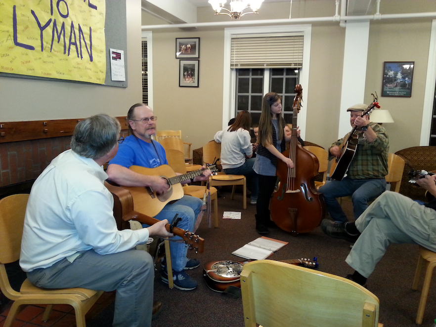 Lyman House jam session