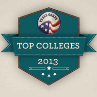 Peace Corps Top Colleges 2013 Logo