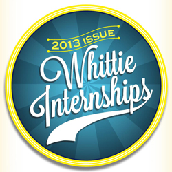 Whittie Internships 2013