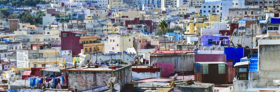 Morocco Rooftops and Cityscape