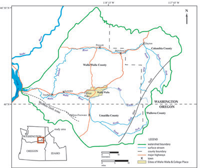 threats to water quality in the deep basalt aquifer city of walla