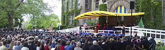 Commencement at Whitman College