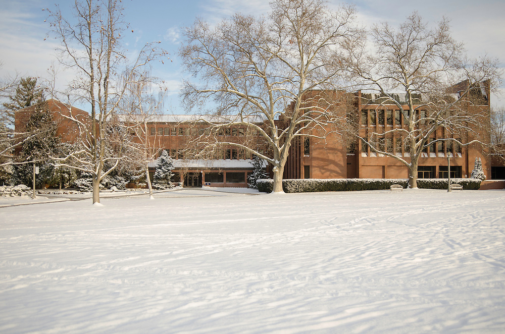 A photo of the Olin hall