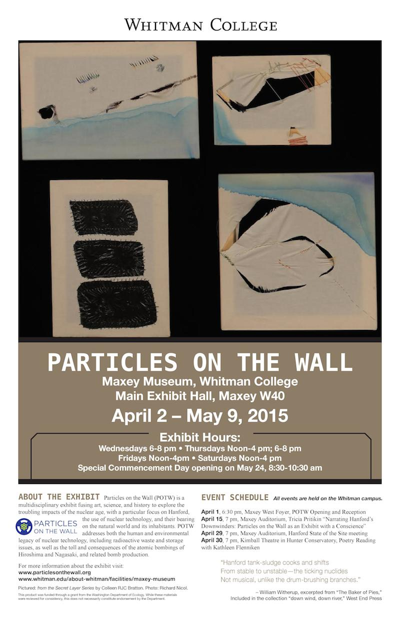 Particles on the Wall Poster