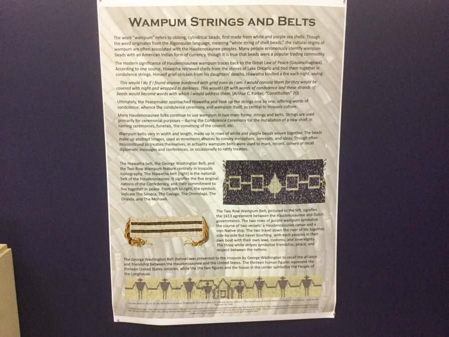 Wampum Strings & Belts Text Image