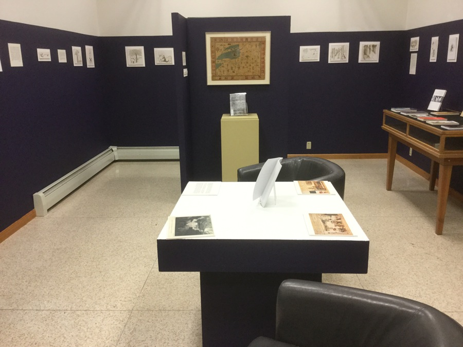 The Iroquois exhibit
