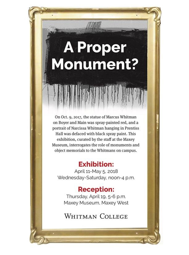 A Proper Monument? Poster